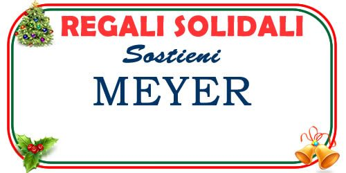 Regali di Natale solidali per l'Ospedale per bambini Meyer