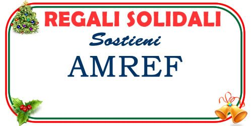 regali di natale solidali a favore dell'AMREF