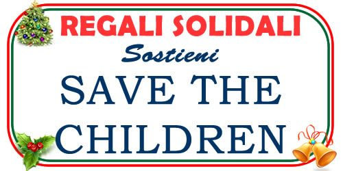 regali di Natale solidali con Save thee Children
