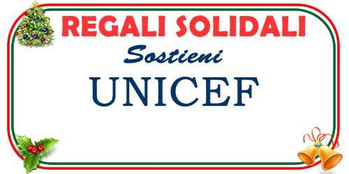 Con i regali di Natale sostieni Unicef