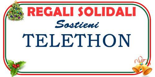 regali di Natale solidali con Telethon