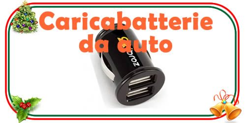 caricabatterie per smartphone da auto