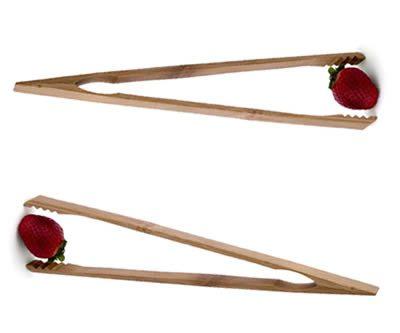 Pinze da cucina in legno for Pinze da cucina