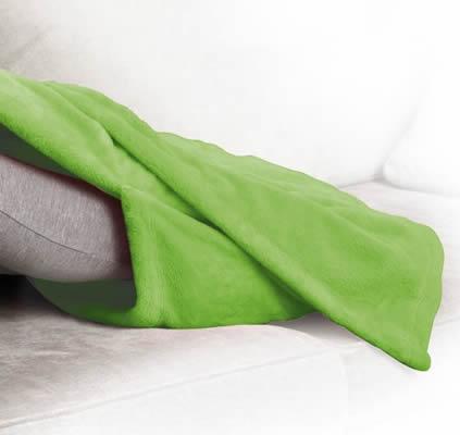 coperta con tasca per i piedi