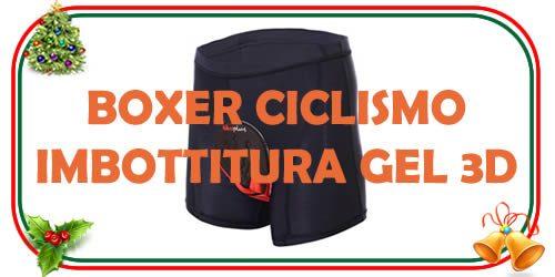 boxer da ciclismo 3d con gel