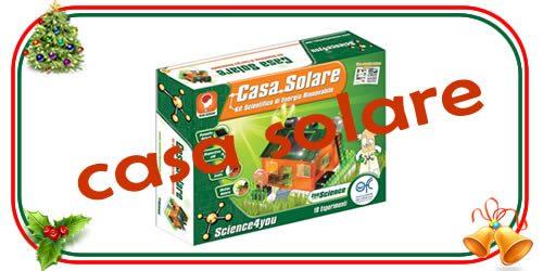 casa solare ed ecologica per bambini di 8 anni