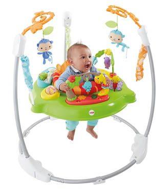 centro delle attività e del movimento come i saltarelli per bebè e bambini piccoli
