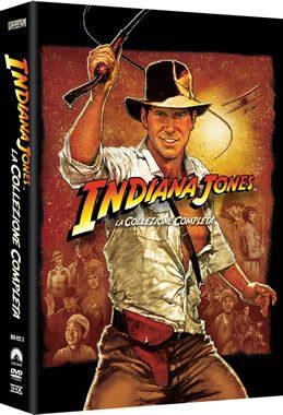 cofanetto 4 film indiana jones
