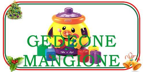 giocattolo Gedeone Mangione per bambini piccoli e bebè