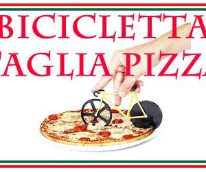 la bicicletta taglia pizza