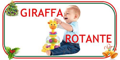 giocattolo della giraffa rotante