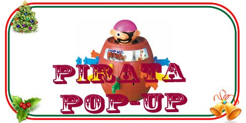 giocattolo vintage del pirata pop-up