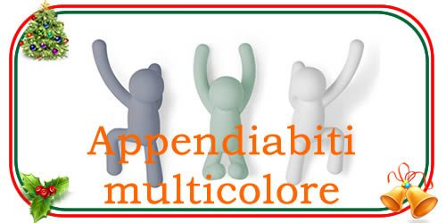 appendiabiti multicolore di design