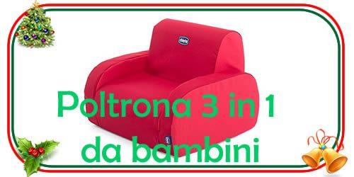 Poltrona 3 in 1 bambini regali natale 2018 regali for Poltrona bambini