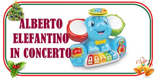 Giocattolo Alberto Elefantino in Concerto