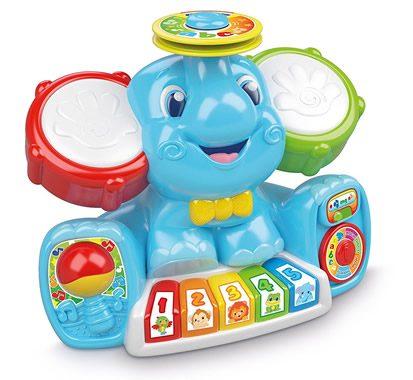 giocattolo alberto elefantino in concerto per i bambini appassionati di musica
