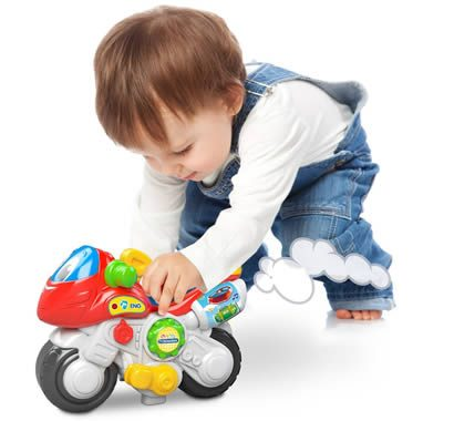 giocattolo per bambini Ale Moto Mondialiale