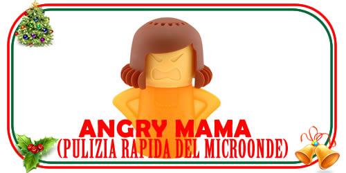 Angry Mama: pulizia rapida del microonde
