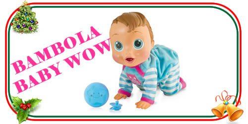 bambola interattiva baby wow
