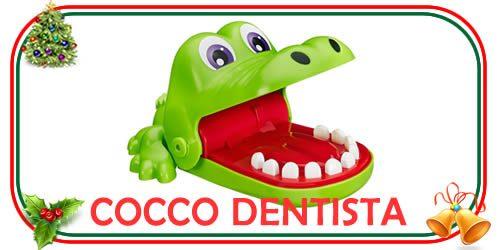 cocco dentista per i regali di Natale per bambini di 4 anni e oltre