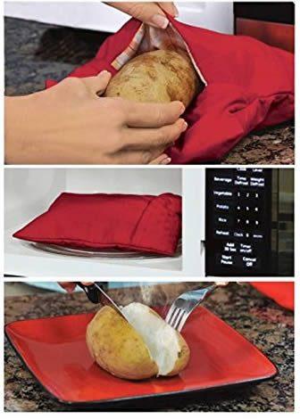 come fare con la sacca cuoci patate da microonde