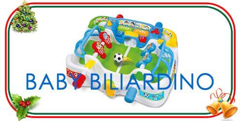 Baby Biliardino il gioco del calcio balilla per bambini piccoli