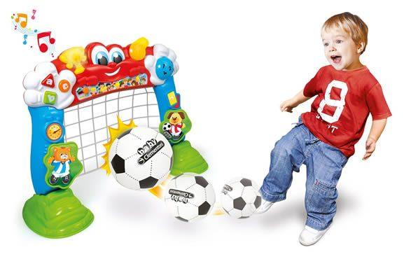 porticina giocattolo tira e segna goleador