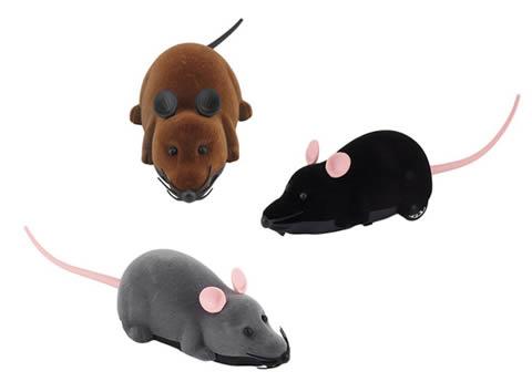 3 modelli di topo giocattolo telecomandato