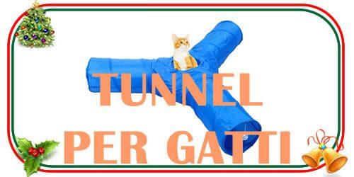 tunnel per gatti e animali domestici di piccole dimensioni