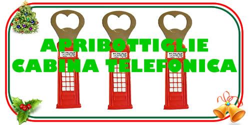 Apribottiglie cabina telefonica di Londra
