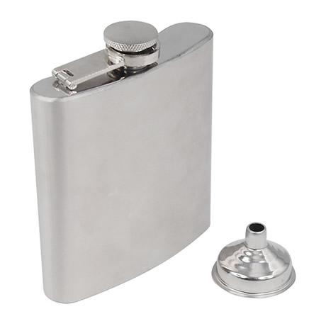fiaschetta tascabile in acciaio inossidabile