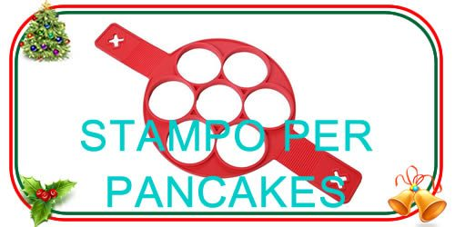 stampo per pancake in silicone