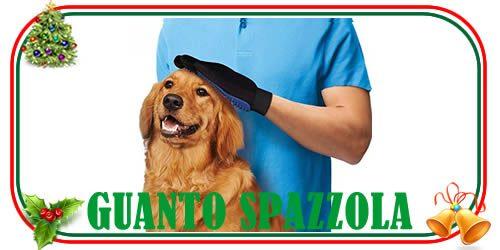 guanto spazzola per animali per la cura del tuo cane e del tuo gatto