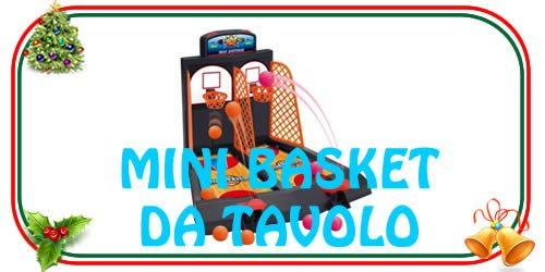 Il giocattolo del mini basket da tavolo dal sapore vintage ma sempre divertente