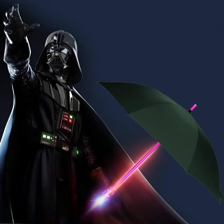 ombrello con spada laser da film Guerre Stellari