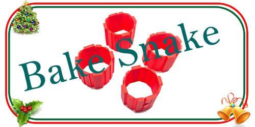 stampi in silocone baker snaker per dolci