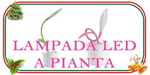 lampada led a forma di pianta per regali di NAtale