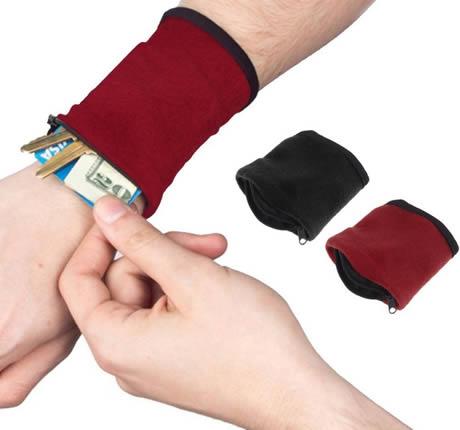 portafolglio da polso sportivo per piccoli oggetti