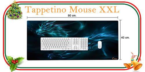 tappetino per mouse XXL di grandi dimensioni