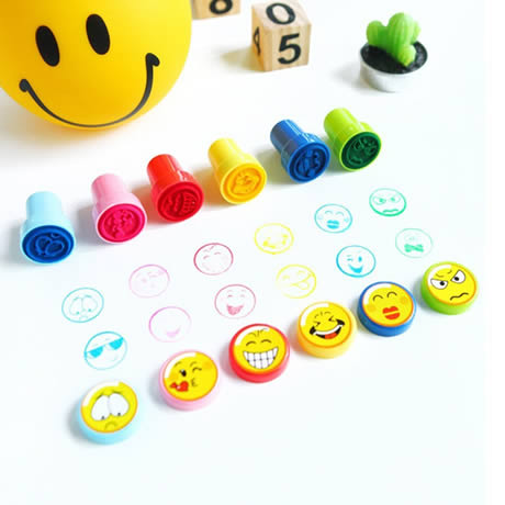 esempiodi utilizzo dei timbri Emoji