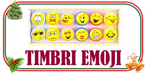 i timbri Emoji per i Regali di Natale economici