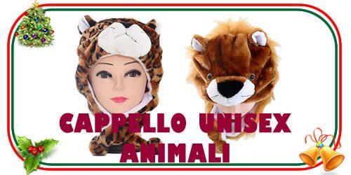 Cappello unisex dedicato agli animali, come il pinguino, il panda, l'orso, la mucca