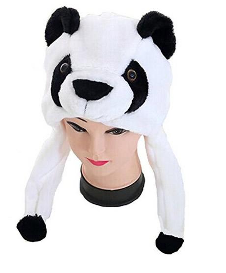 cappello panda in taglia unisex