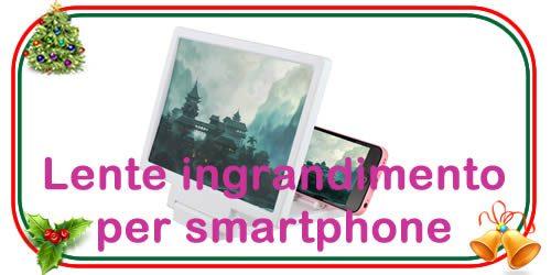 Lente di ingrandimento per smartphone 3d universale
