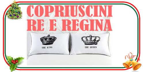 Copricuscini per la coppia Re e Regina