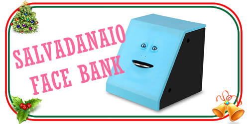 il bizzarro salvadanaio Face bank