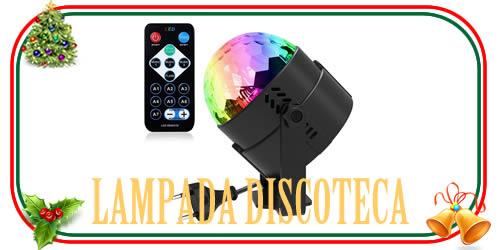 Lampada led da discoteca multicolore
