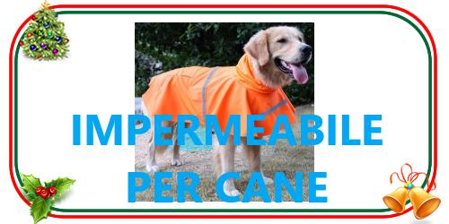 mantella impermeabile per cane