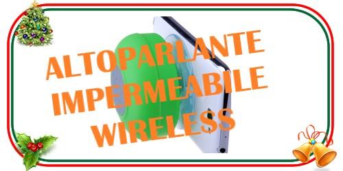 Cassa altoparlante wireless impermeabile