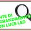 lente di ingrandimento con luce a led
